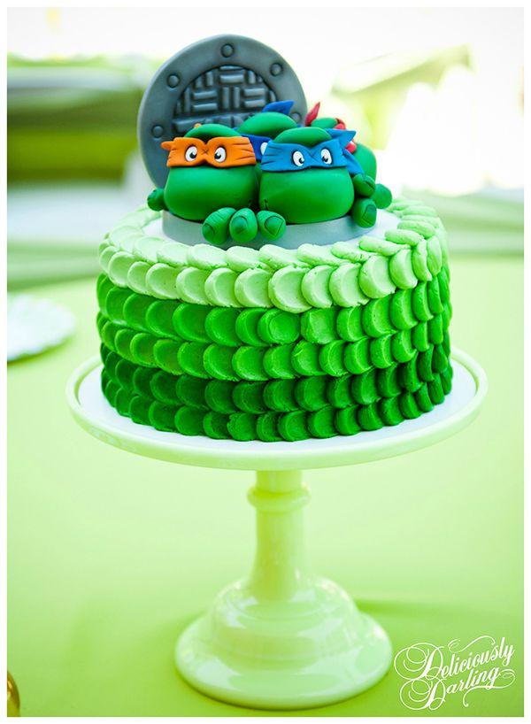 Cowabunga Teenage Mutant Ninja Turtles Party Ideas Ninja turtle