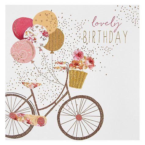 Buy Portfolio Bike Birthday Card Online At Johnlewis Com Happy