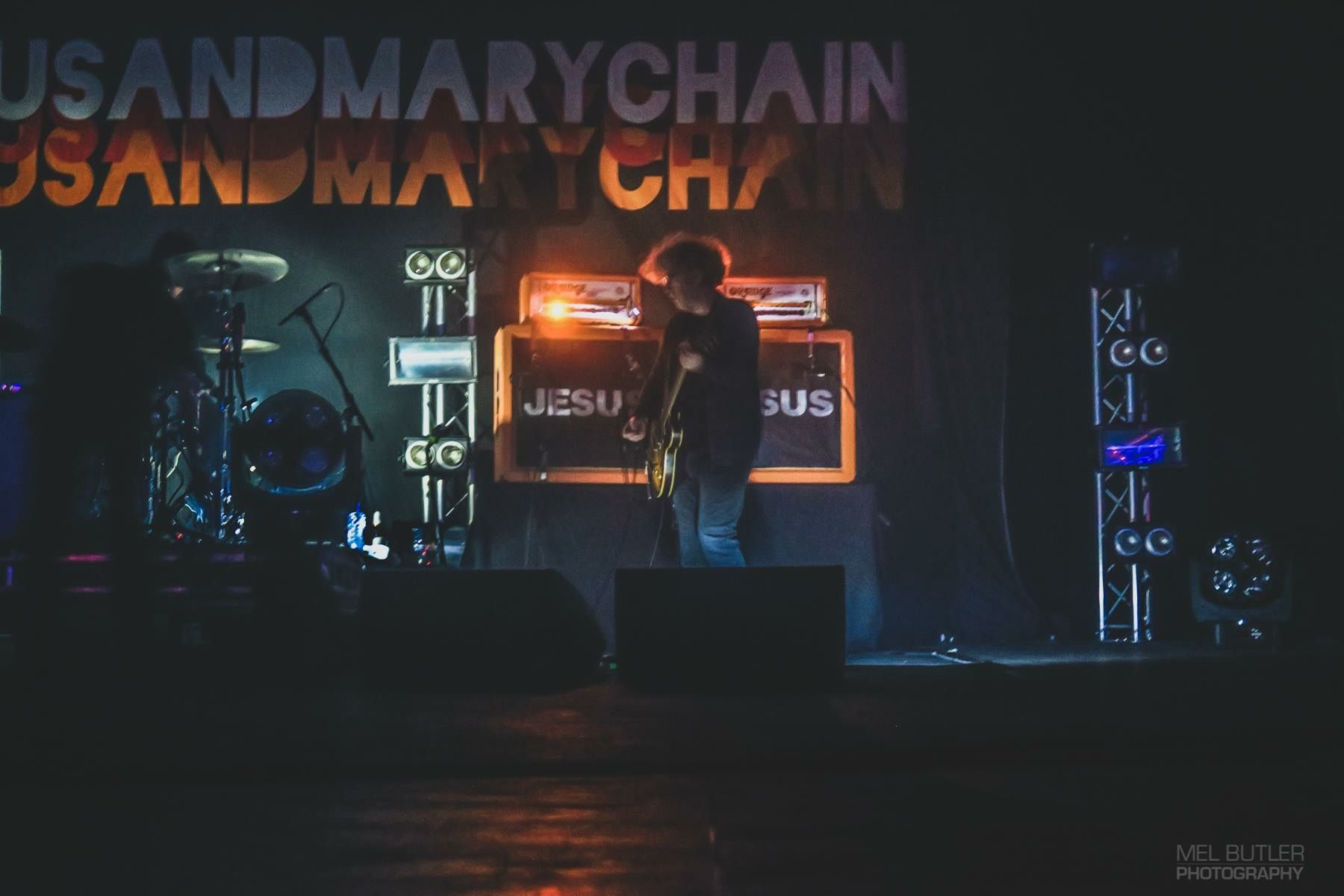 William Reid The Jesus And Mary Chain Leith Scotland Aug 2018 虹