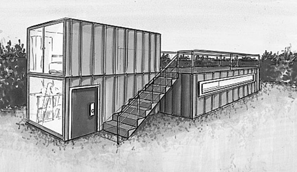 Conseils pour la construction de votre maison container for Conteneur maritime maison
