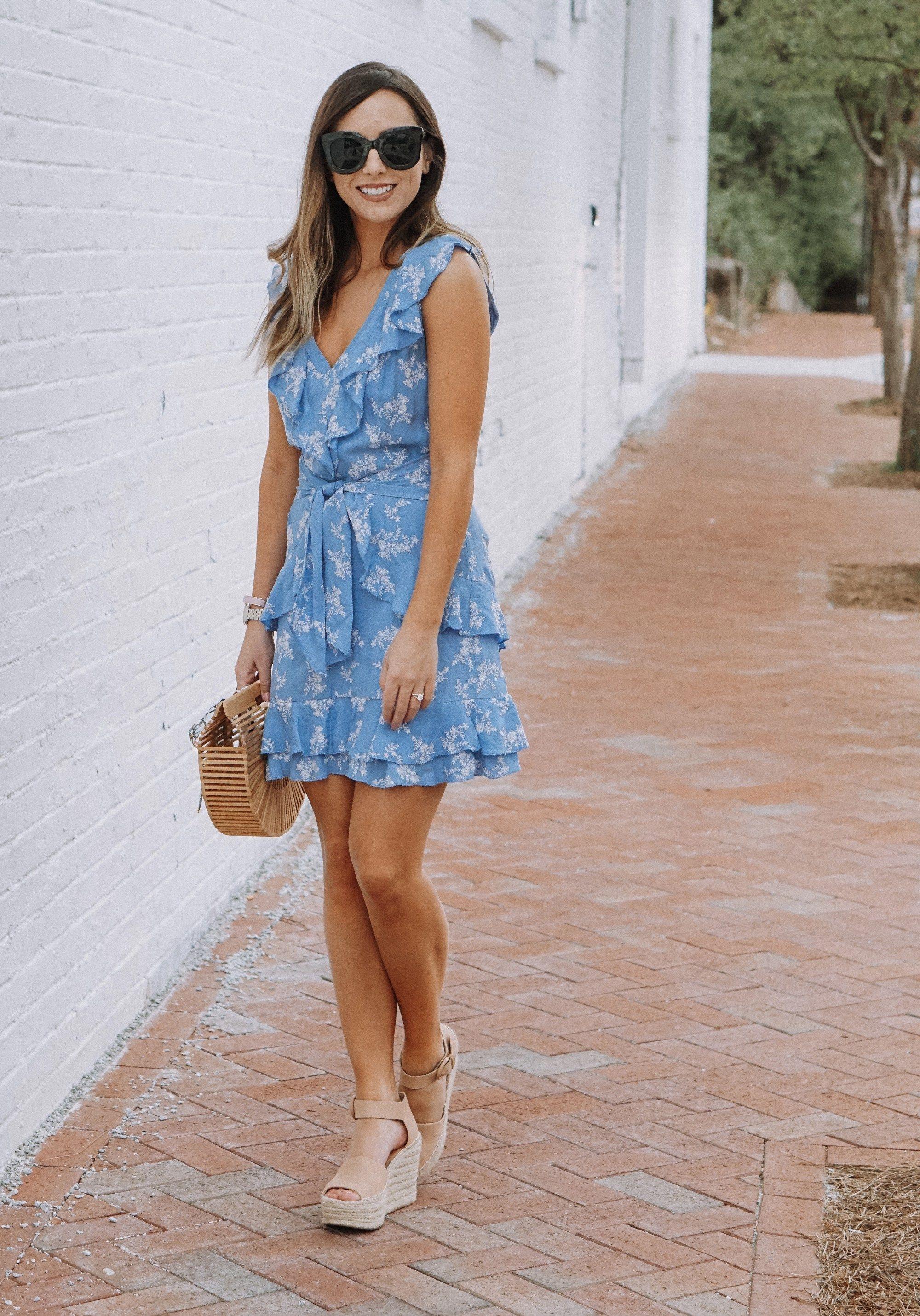 152db84b947 Blue Parker Dress