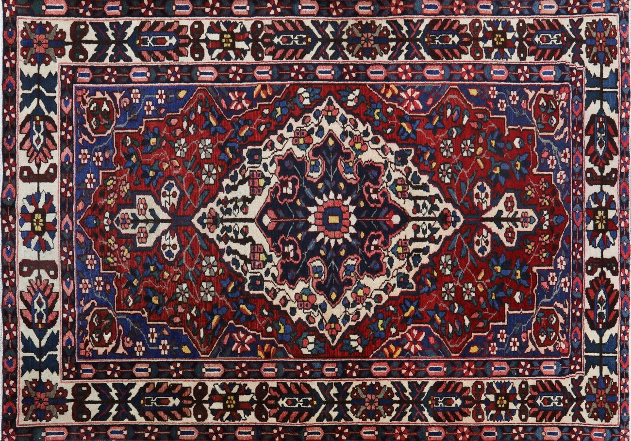 Their beauty captures the traditions of Iran throughout history. Our Persian rugs are always hand knotted, and use natural dyes to create their sharp coloring.