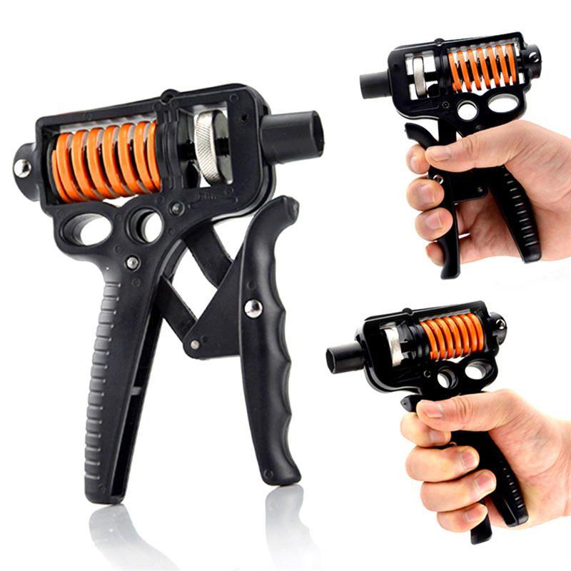 Hand Grip Trainer Gripper Strengthener Adjustable Gym Strength Power Exerciser