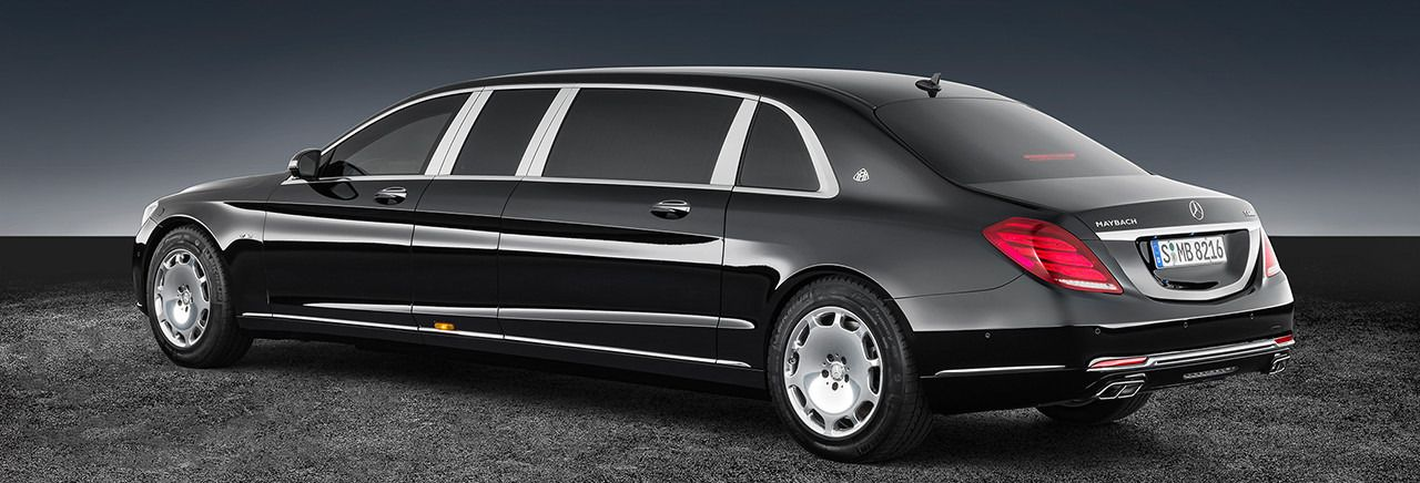 The Mercedes Maybach S 600 Pullman Guard Is Truly Mercedes