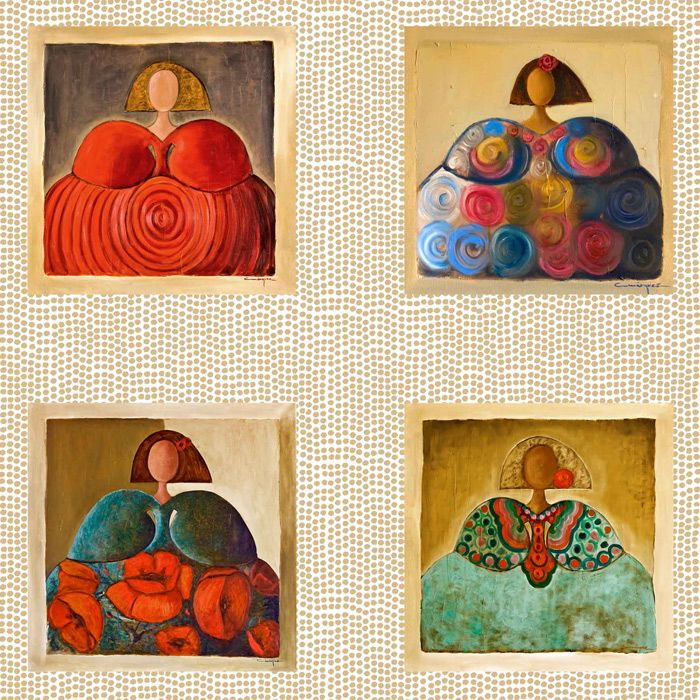 Meninas2 topos meninas en 2019 pinturas cuadros para - Cuadros para casas modernas ...