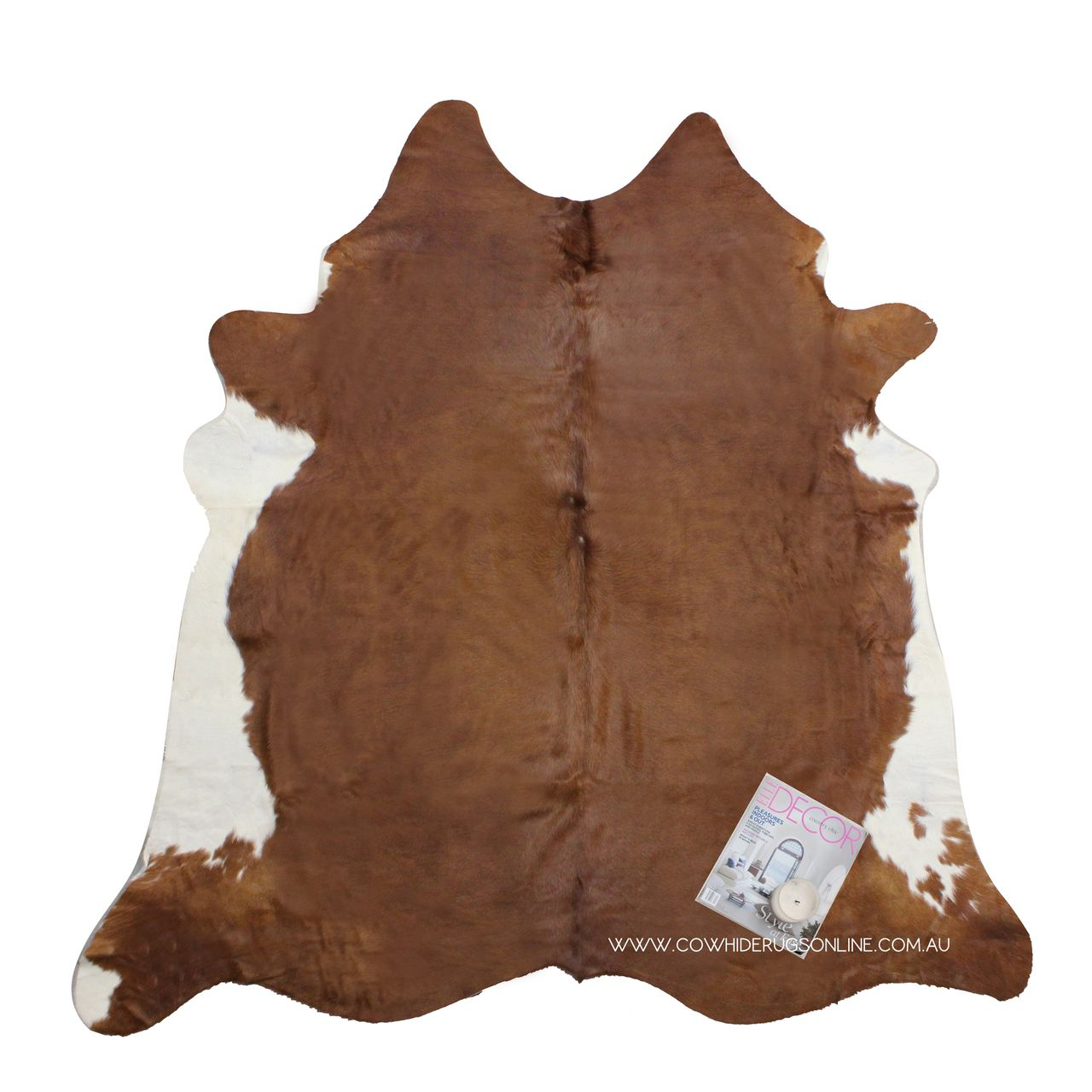 Brown With White Belly Natural Cowhide Rug Our Range Of