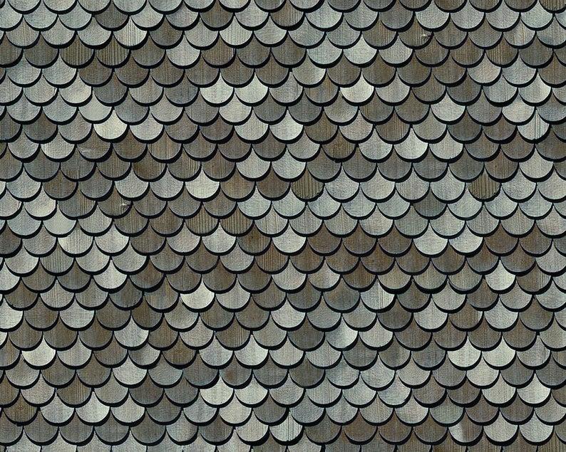 5 Sheets A4 Tile Roof 1 12 Scale Vinyl Matt Pvc Self Adhesive Code R2bv In 2020 Roof Shingles Wood Shingles Brick Patterns