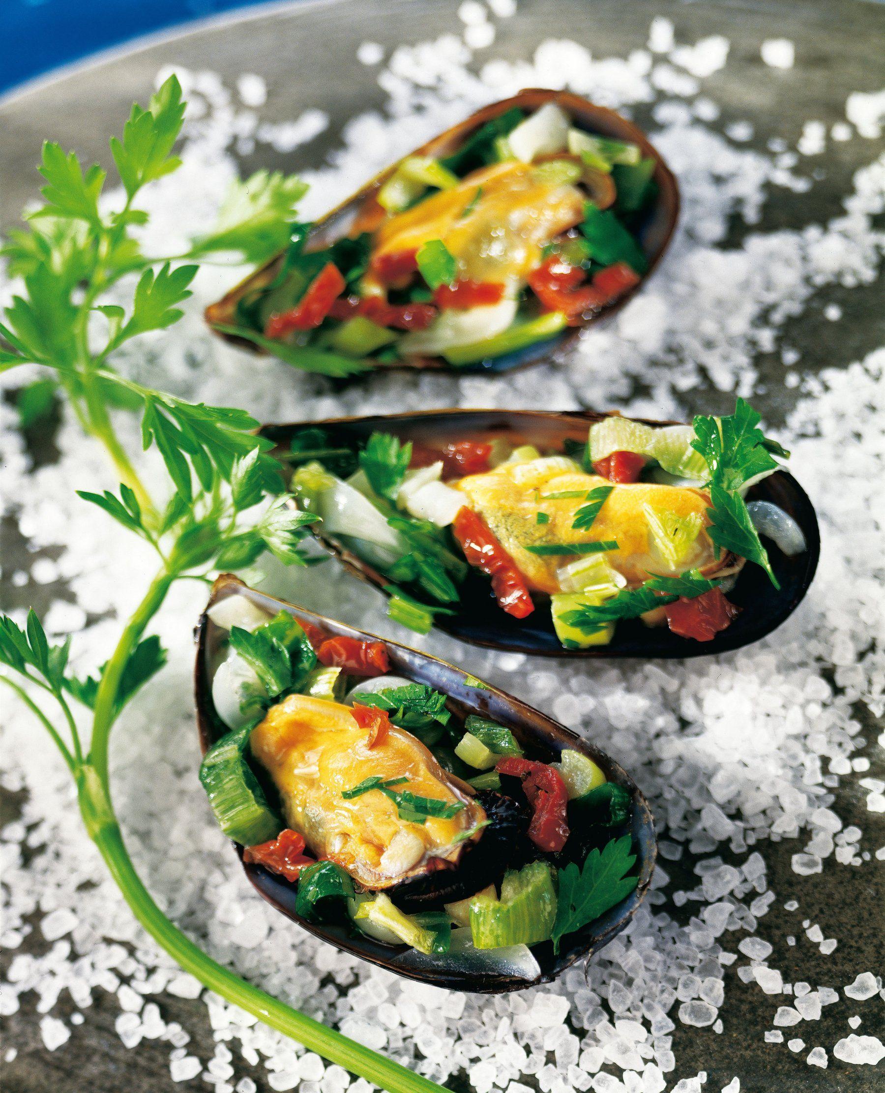 Moules Farcies A L Italienne Moules Farcies Recette Moules Recettes De Cuisine