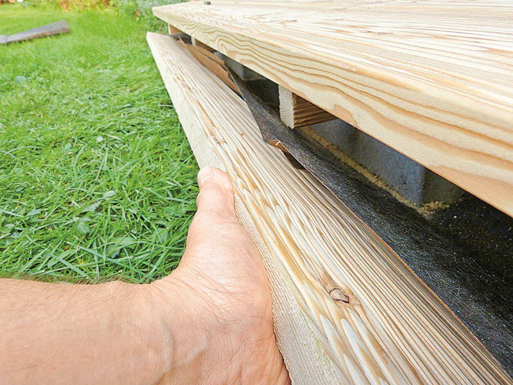 Holzdeck Bauen Diy Academy Holz Im Garten Selber Bauen Garten Holz Terrasse Bauen