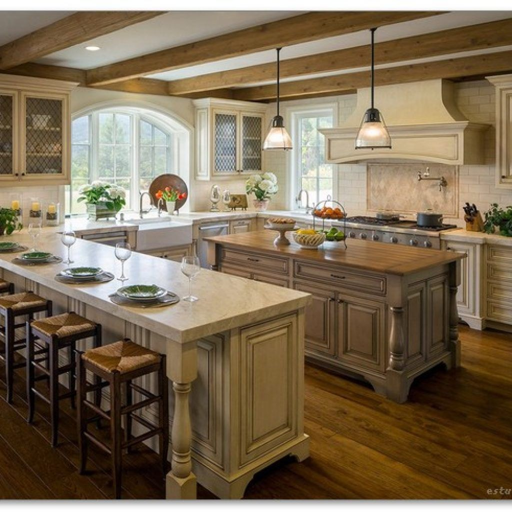 60+ French Country Kitchen Modern Design Ideas | Country ...