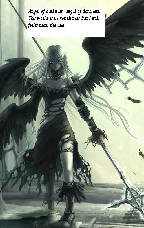 Lyrics From Angel Of Darkness Dark Anime Anime Angel Anime