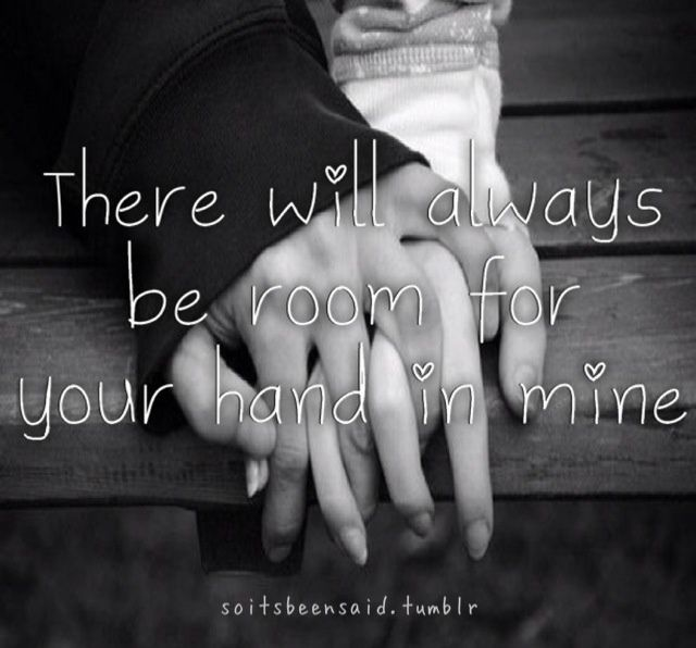 hold hand quote tumblr relationship