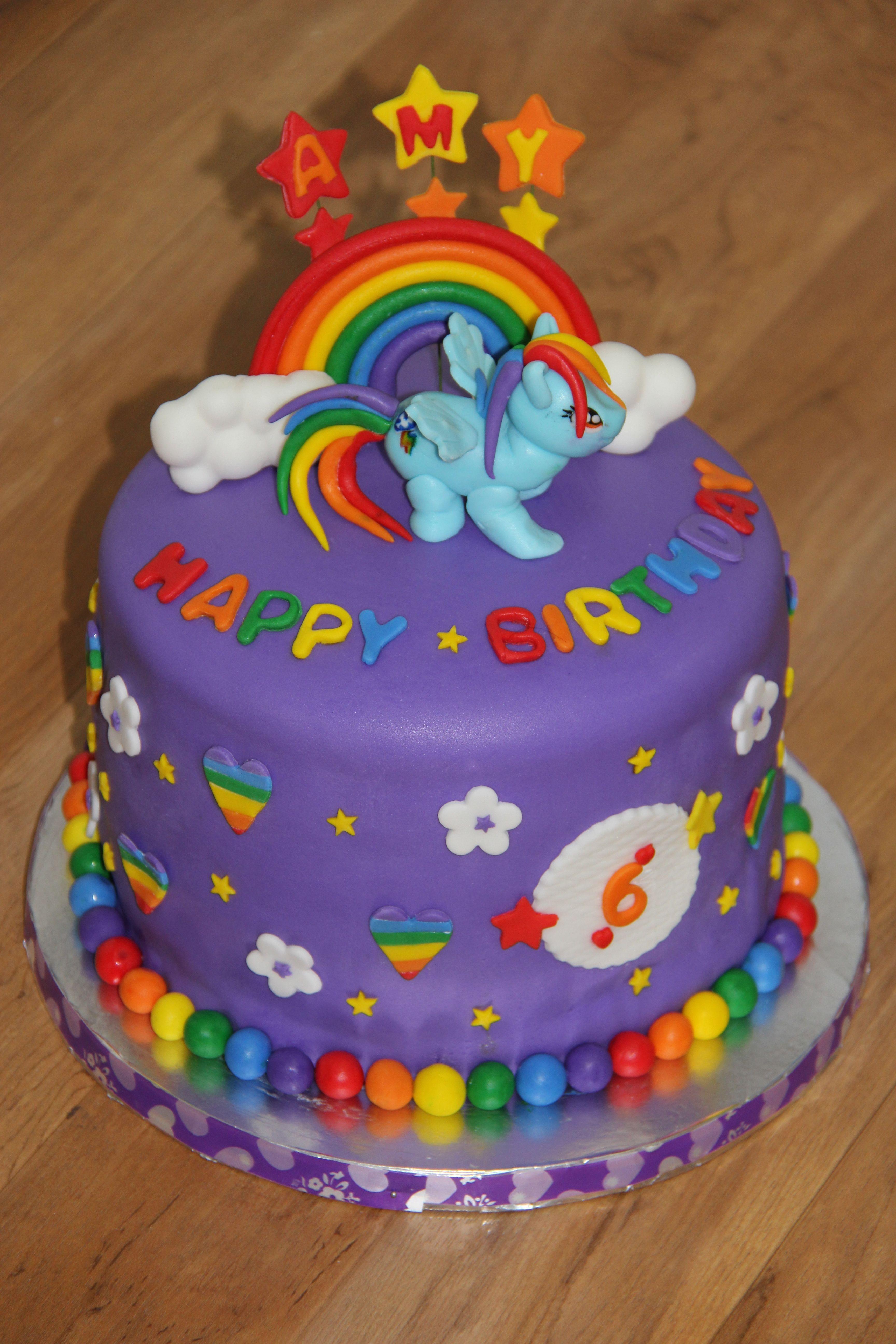 Rainbow dash pony cake Cake of the Week #9 - Character ...