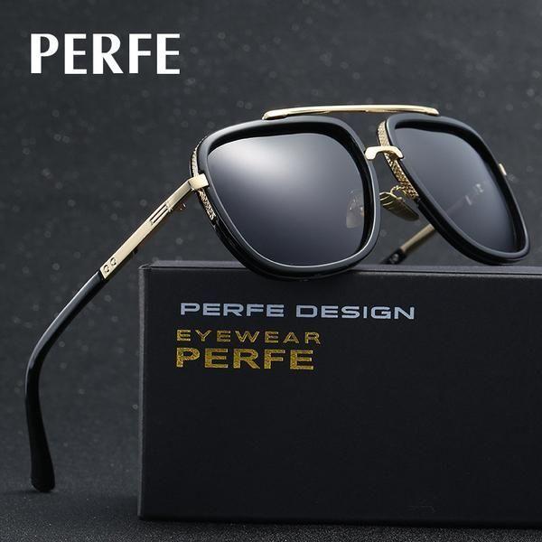ba35d4d328 FuzWeb Men Luxury Alloy Polarized Sunglasses Driving Glasses Oculos Male  Eyewear For Men AFJ001  fishingsunglasses
