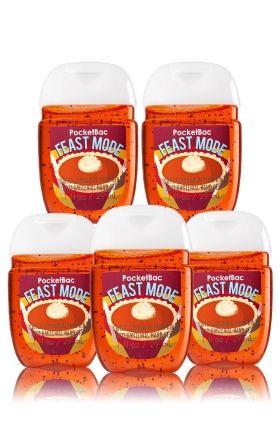 Feastmode Sweet Cinnamon Pumpkin 5 Pack Pocketbac Sanitizers