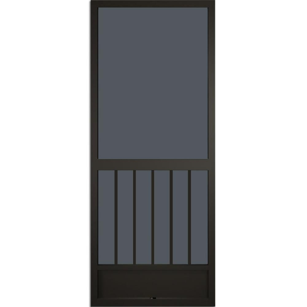 westmore bronze aluminum screen door