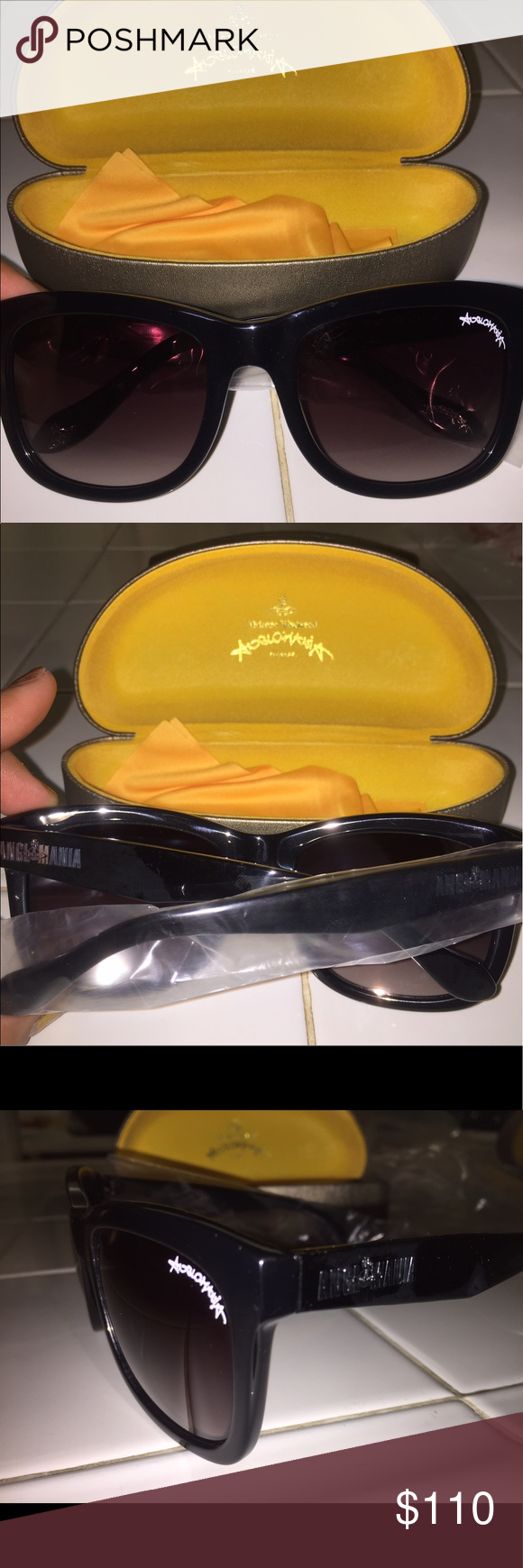 ad7b5b2cb5a3 Authentic Vivienne Westwood sunglasses Brand new Vivienne Westwood  Anglomania black sunglasses Vivienne Westwood Accessories Glasses