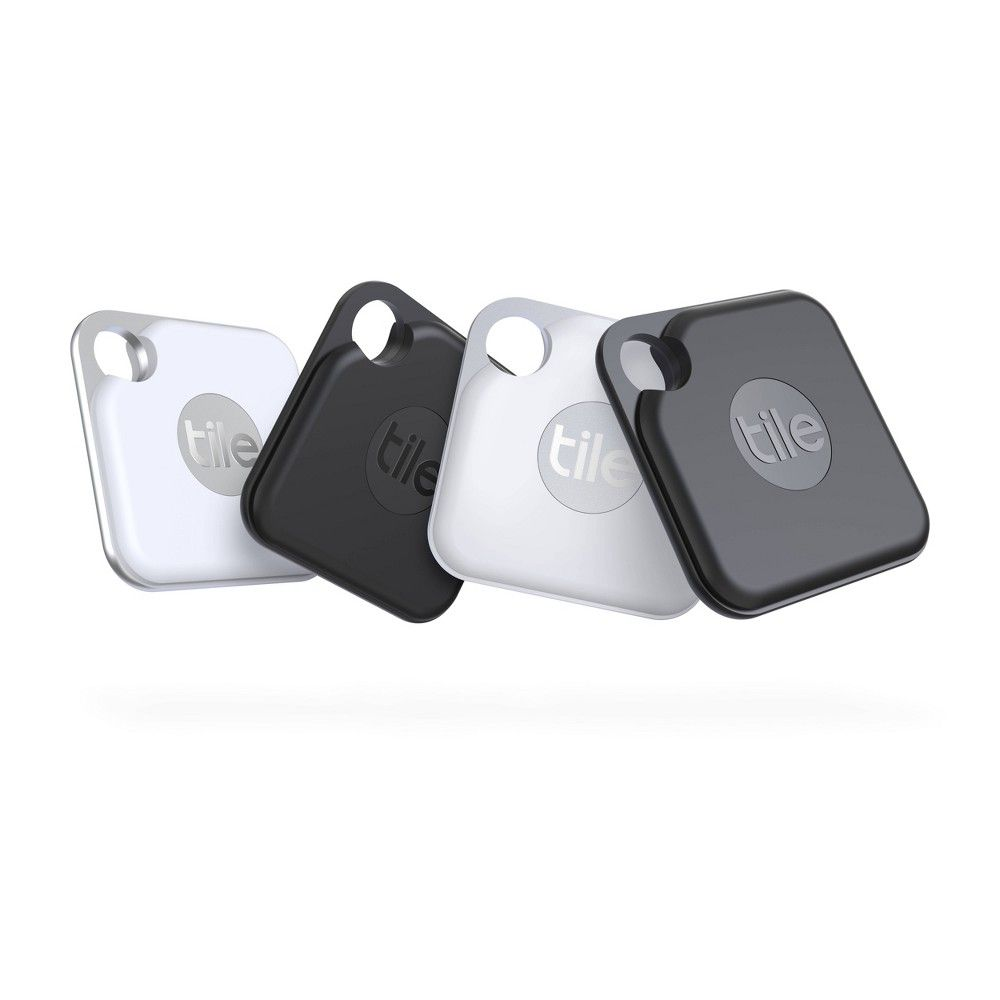 Tile Pro 2020 4 Pack Bluetooth Tracker Smart Device Tile Tracker