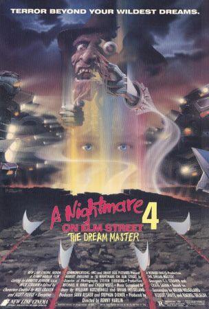 A Nightmare On Elm Street 4 Dream Master Posters Nightmare On