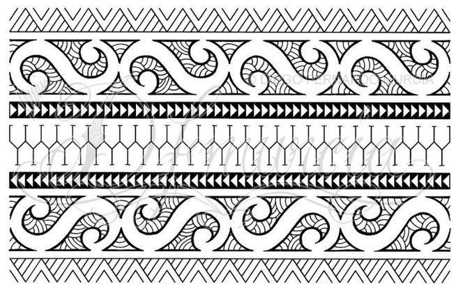 Polynesian Tattoo Design Meaning Polynesian Armband Tattoo Designs