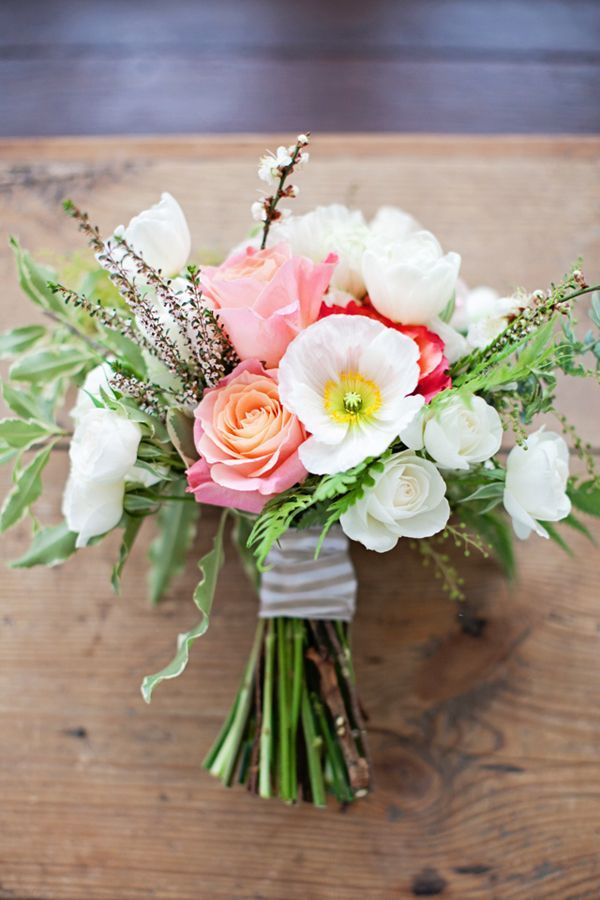 Simple Winter Wedding Shoot By Sunshine Confetti Life In Bloom Photography Flowers Bridal Bouquet Tree Peonies Poppies Roses Ranunculus