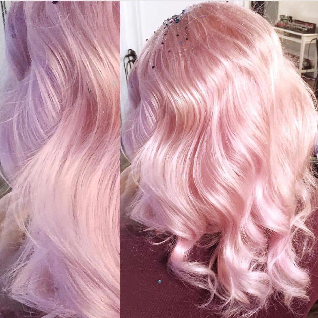 Pale pink confection by kristi rossmichaelssalon pastel hair pink