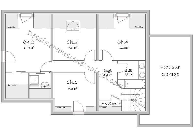Plans De Maisons Ou Villas Avec 5 Chambres | Plans Maison