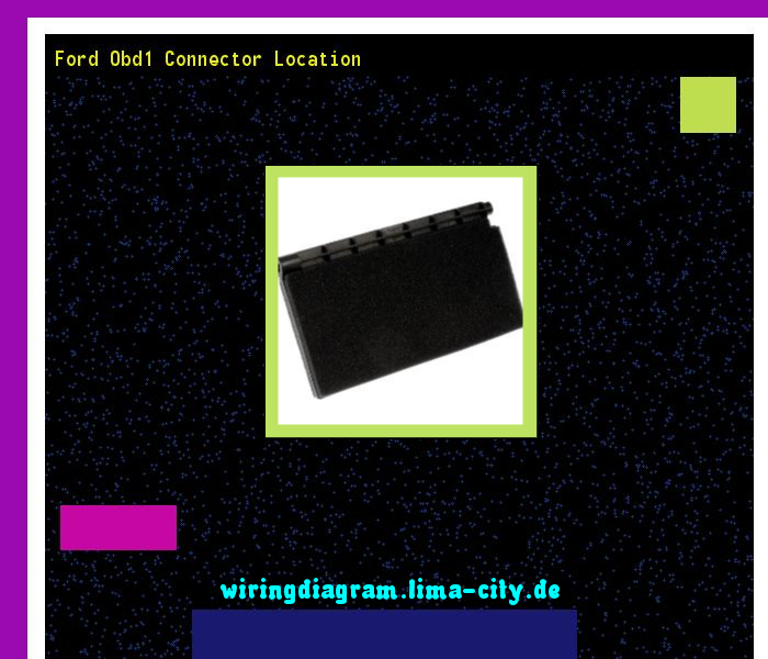 Outstanding Ford Obd1 Connector Location Wiring Diagram 185619 Amazing Wiring Database Gramgelartorg