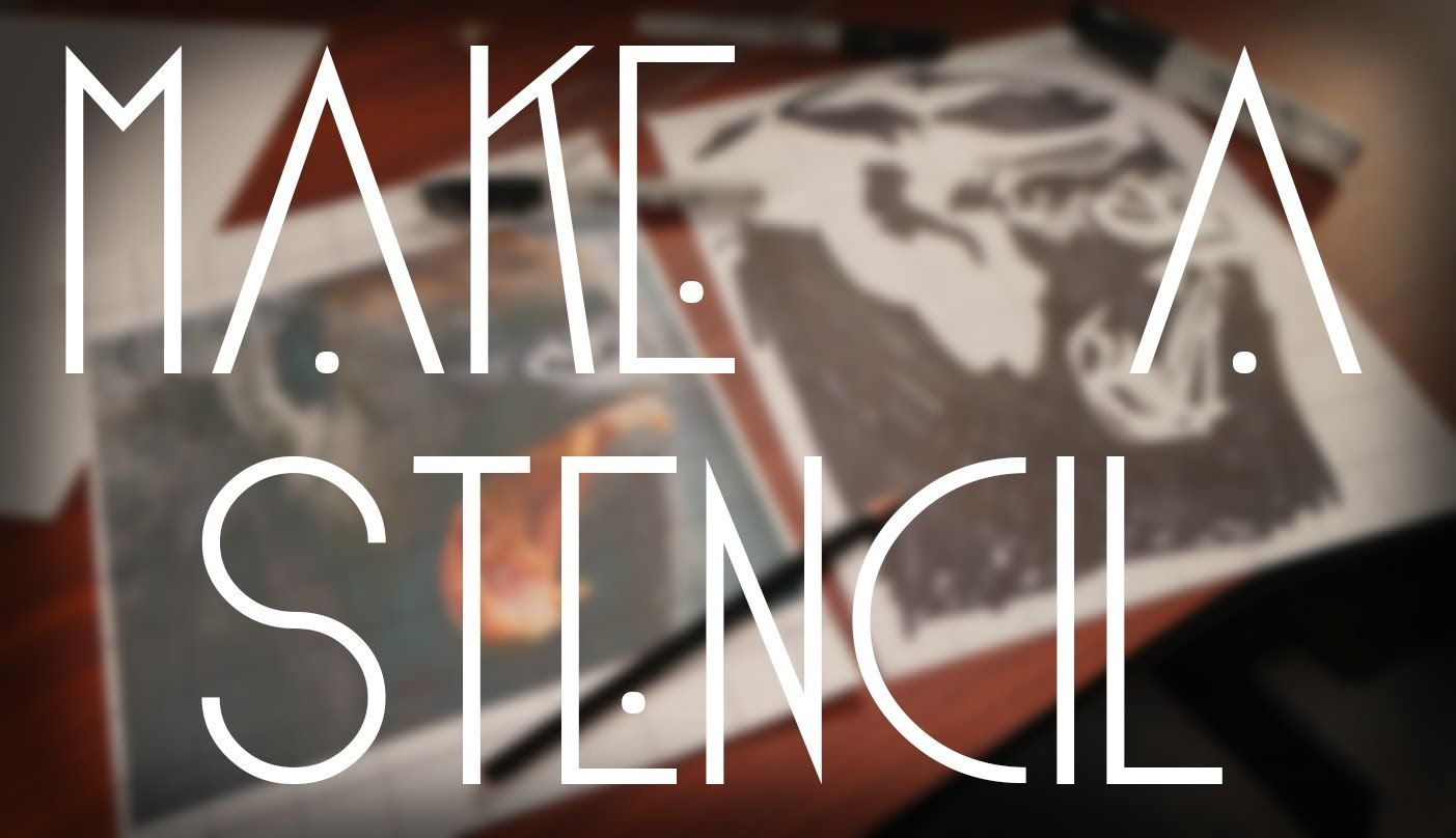 How to make your own wall stencil image collections home wall how to graffiti make your own stencil altered book how to graffiti make your own stencil amipublicfo Images