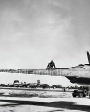 WWII BOCKSCAR AIRCRAFT 8X10 PHOTO NAGASAKI ATOMIC BOMB