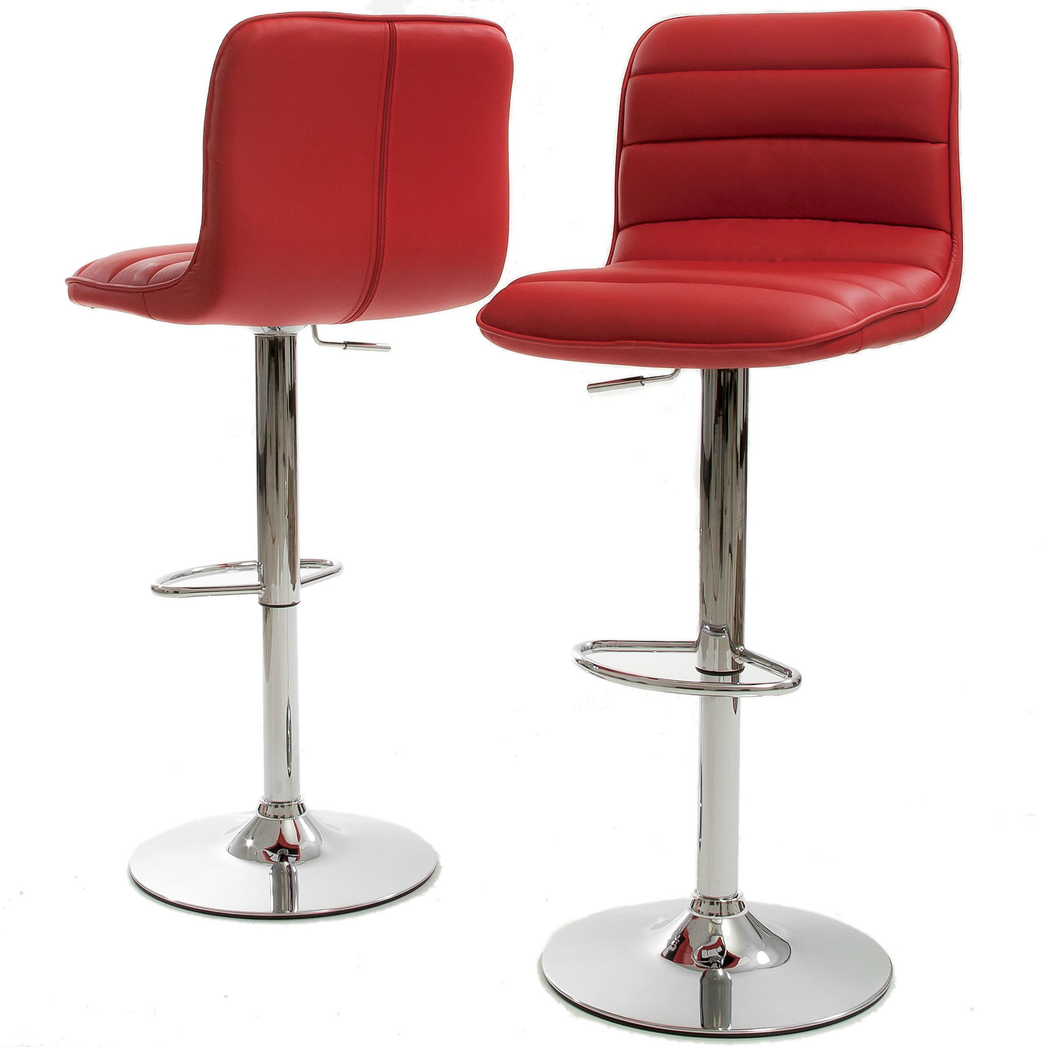 Set Of 2 Adobe Red Bar Stools On Sale Products