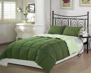 A Green Comforter Is 44 On Amazon Comforter Sets Best Bedding