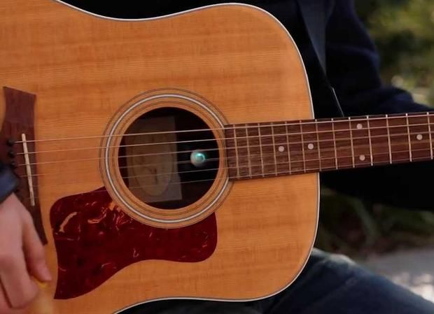 Acoustic Stream Guitar Gadget Does Everything But Play For You Guitar Gadgets Acoustic Music Gadgets