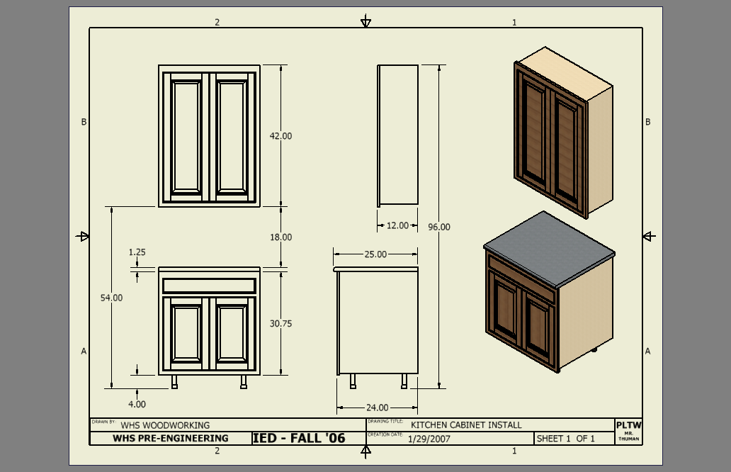 Kitchen Cabinet Heights Are Important, Standard Depth Of Kitchen Wall Units
