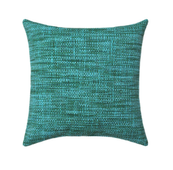Teal Turquoise Outdoor Pillow Cover Decorative Outdoor Pillow Simple Decorative Outdoor Pillows On Sale