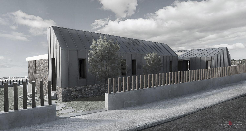 D az y d az arquitectos a coru a galicia vivienda - Viviendas modulares galicia ...