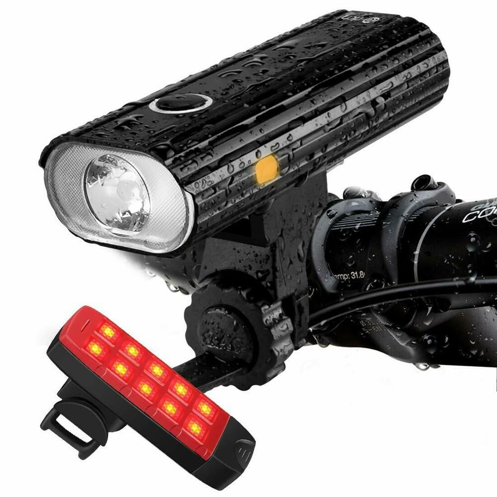 Sponsored Ebay Te Rich Rechargeable Bike Lights Front And Back