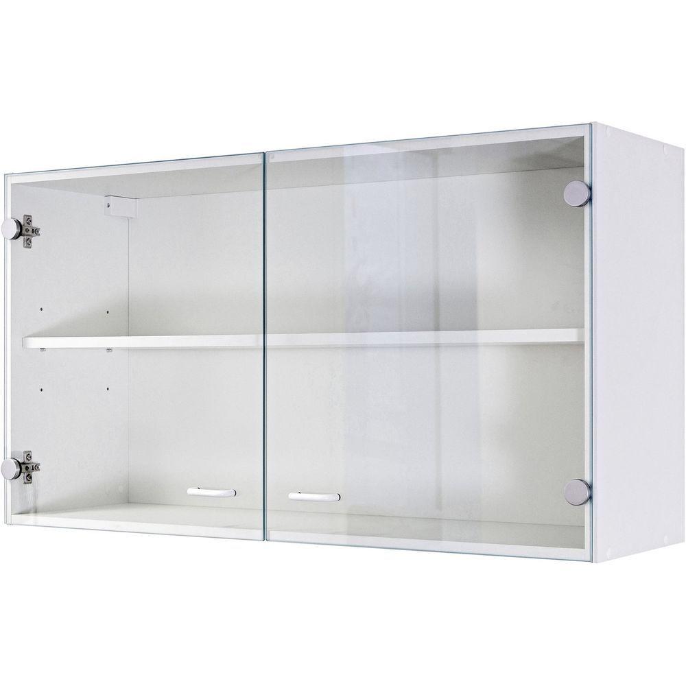 Glashängeschrank Küchen-Hängeschrank Glastüren Oberschrank ...