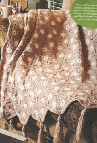 Ravelry: Vanilla Latte Afghan pattern by Kim Guzman