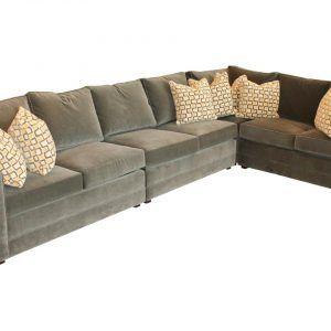 Henredon Fireside Sectional Sofa