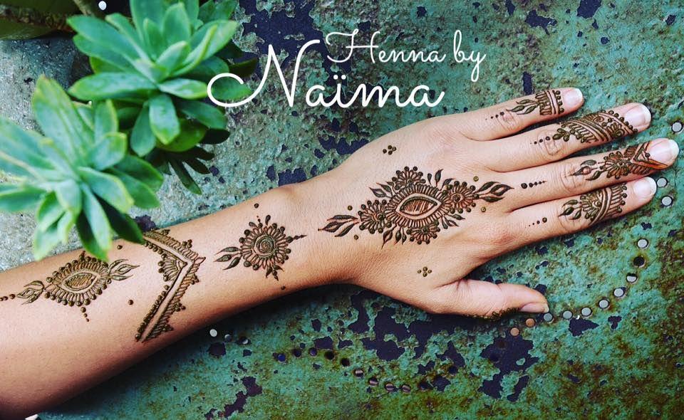 Creation Henne Main Bras Tatouage Au Henne Naturel Avec Naima