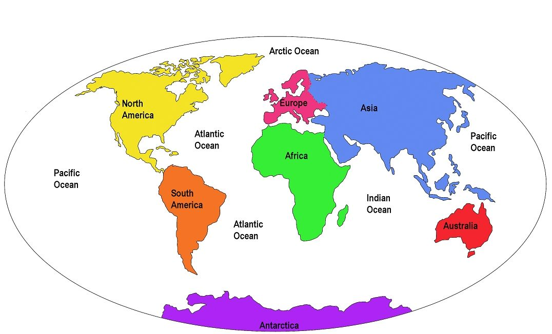 World Map Continents And Countries Labeled Hd Images 3 HD Wallpapers Geogra