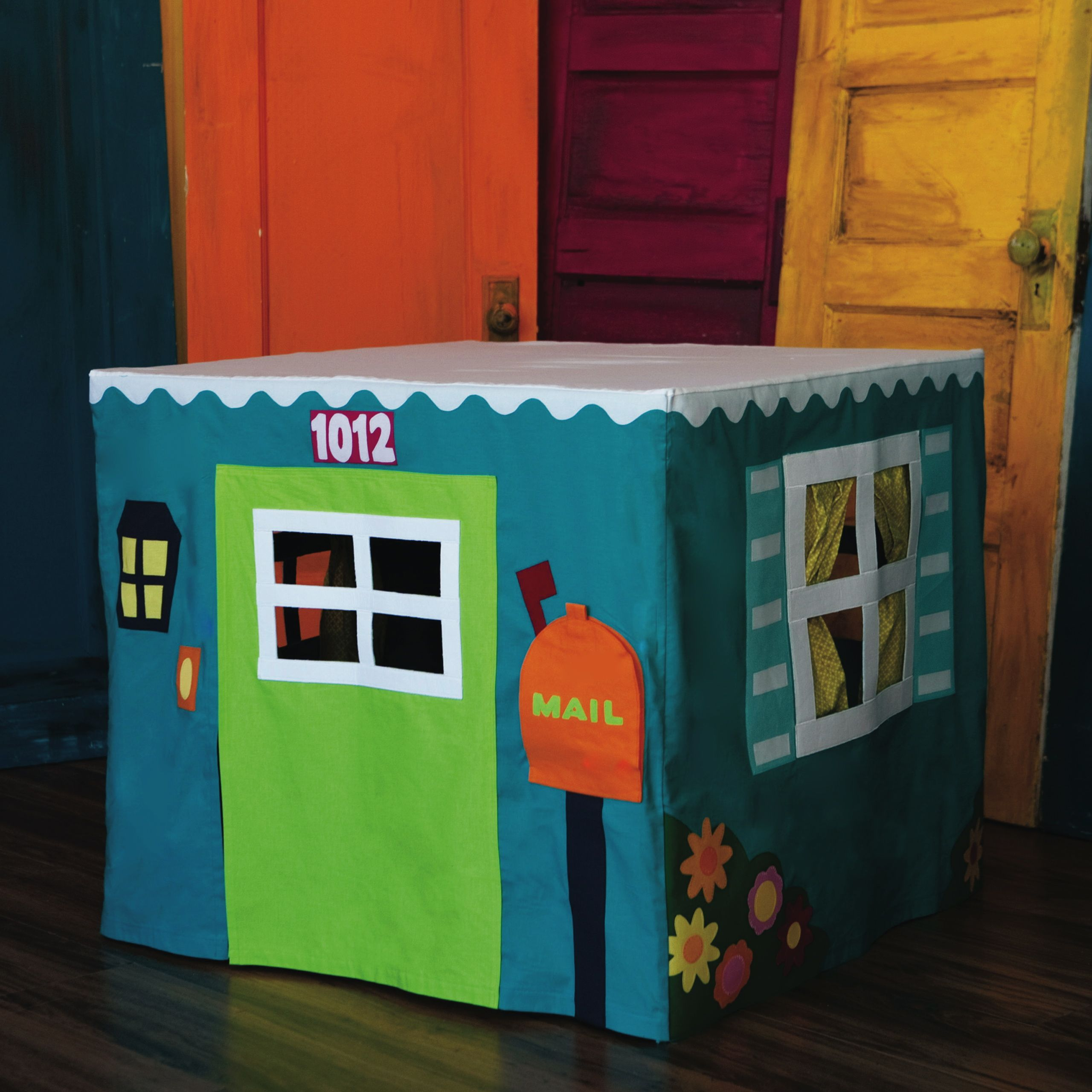 The Card Table Playhouse Pattern Empty Bobbin Sewing Studio Card Table Playhouse Play Houses Childrens Christmas Gifts