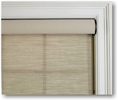 The Hunter Douglas Designer Screen Window Shade Cassette Adds A Touch Of Sophistication To Window Shades