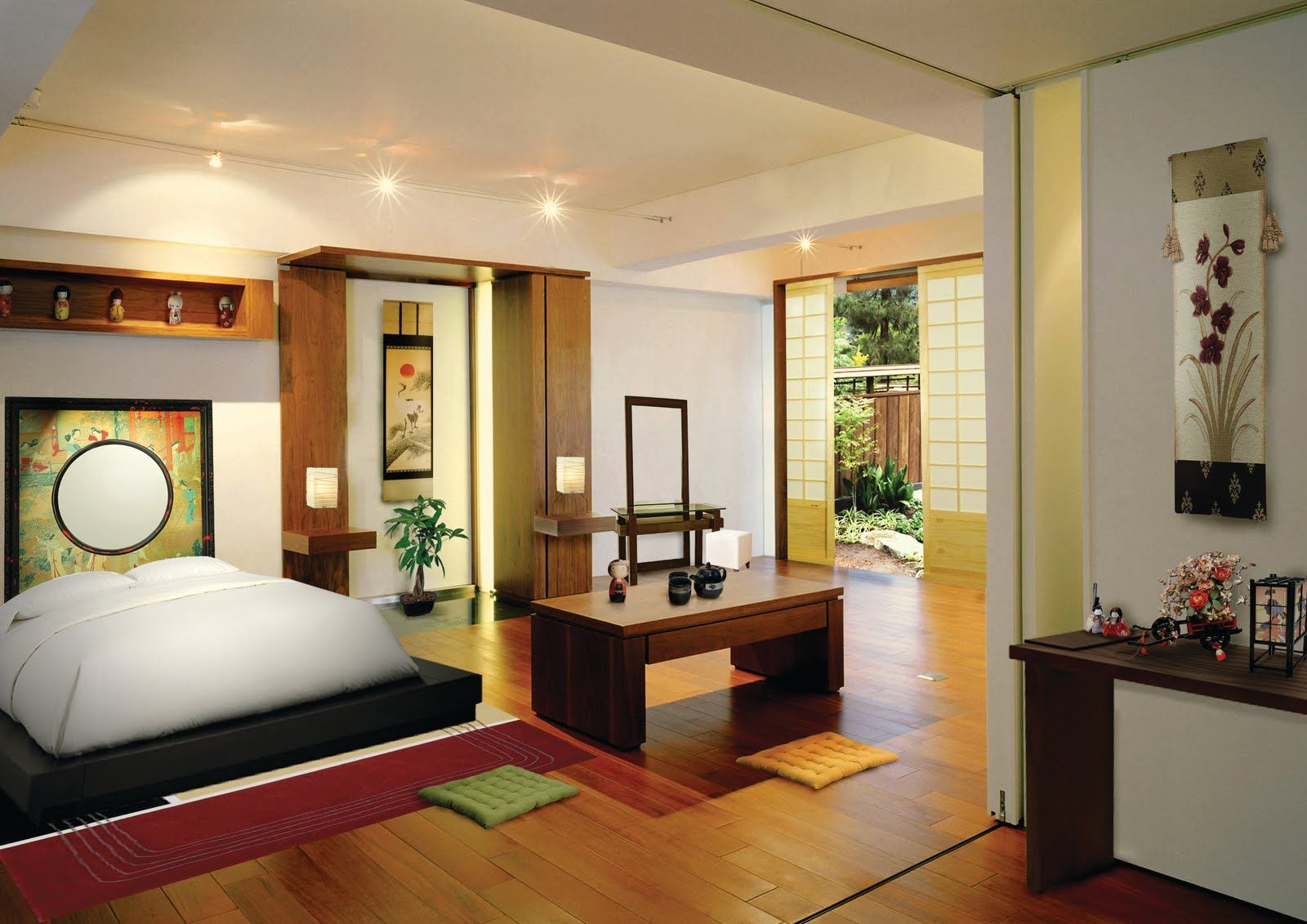 Japanese Architecture Shifts To Include Modern Elements Japanese Style Bedroom Japanese Living Rooms Interior Design Bedroom