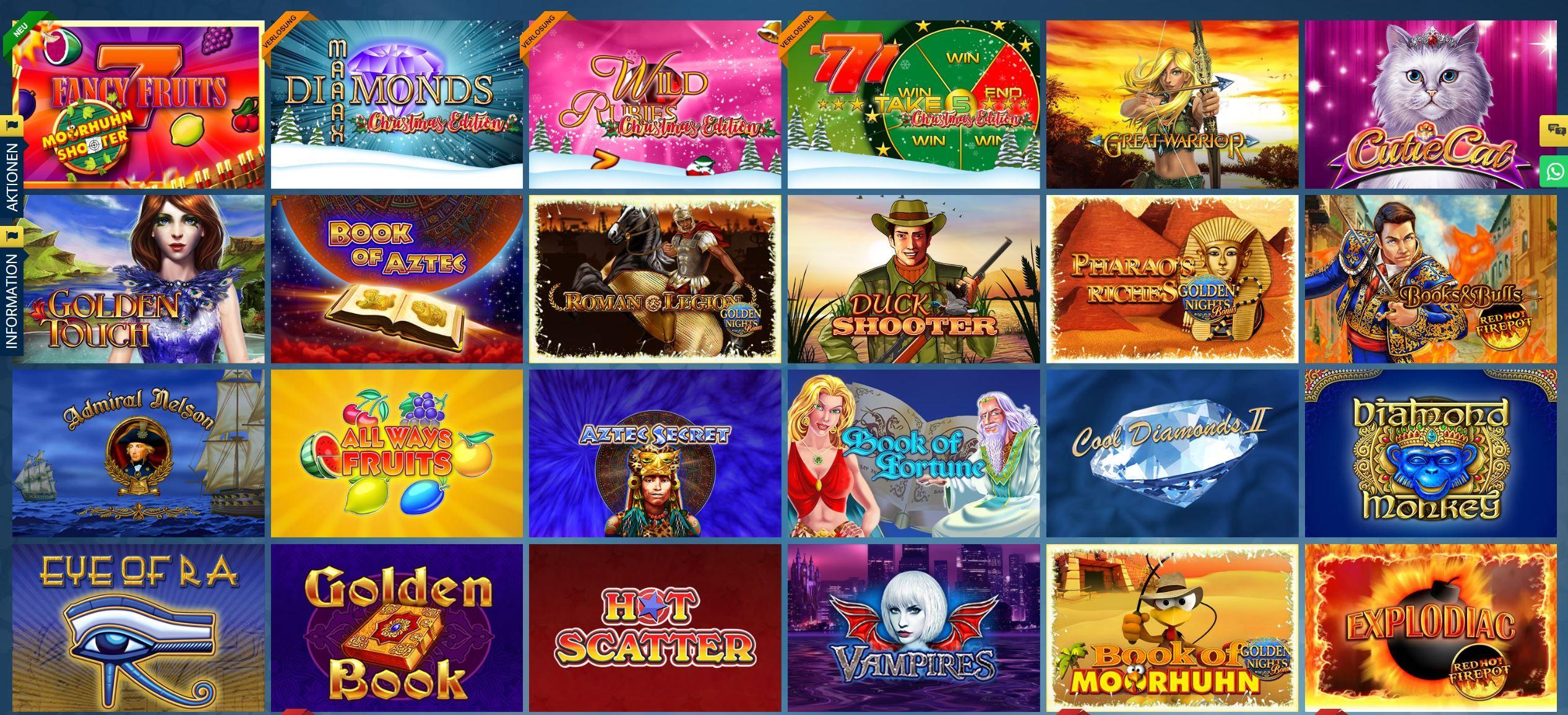 Casinospiele Merkur