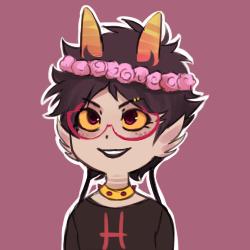 Karkat Flower Crown
