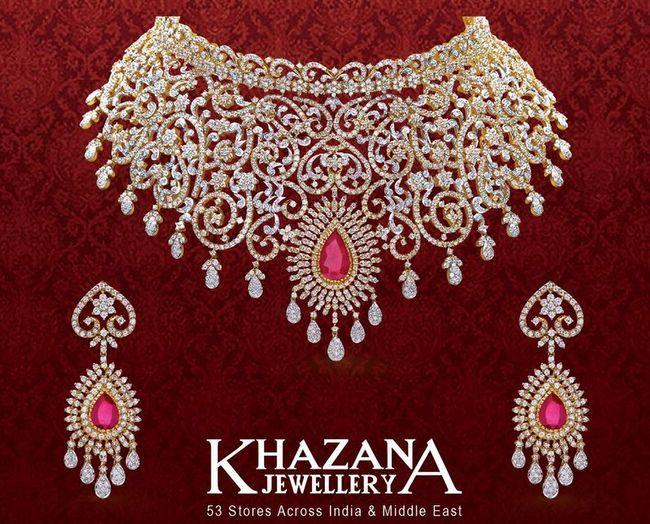7ec894800995a Diamond Set by Khazana Jewellery   Fashion   Luxury Jewellery ...