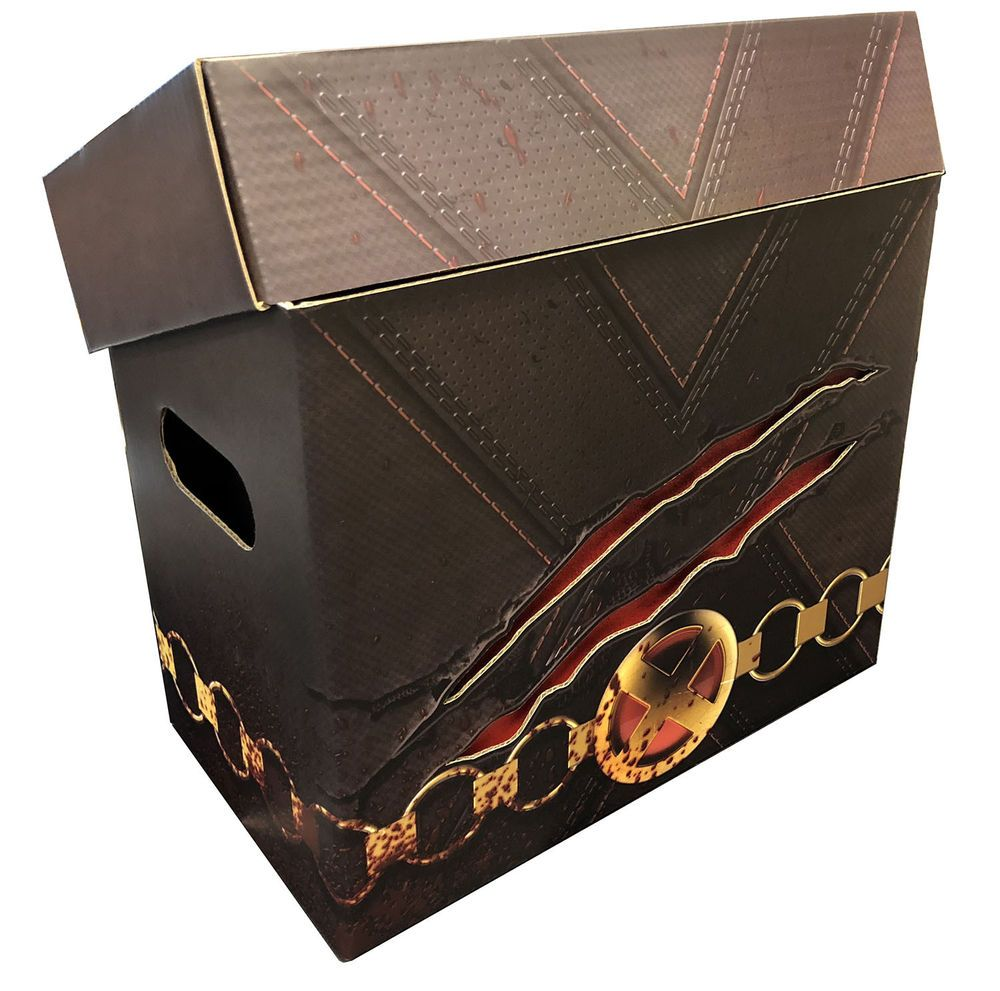 2 Wolverine Style Art Comic Book Storage Boxes Slash V2 Holds 125 140 Comics Provided More Than 100 000 Comic Artworks For Sale Contained Within Comic Art M
