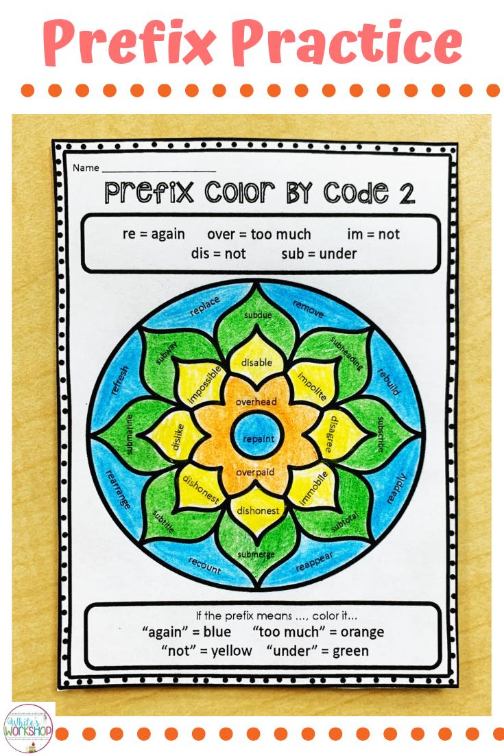 Prefix worksheets for 3rd [ 1102 x 735 Pixel ]